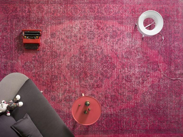 tappeto aladino miniforms rosso ciclamino