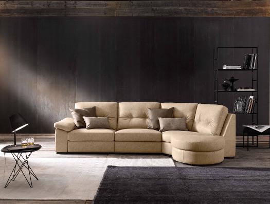 Desmond divano componibile in tessuto