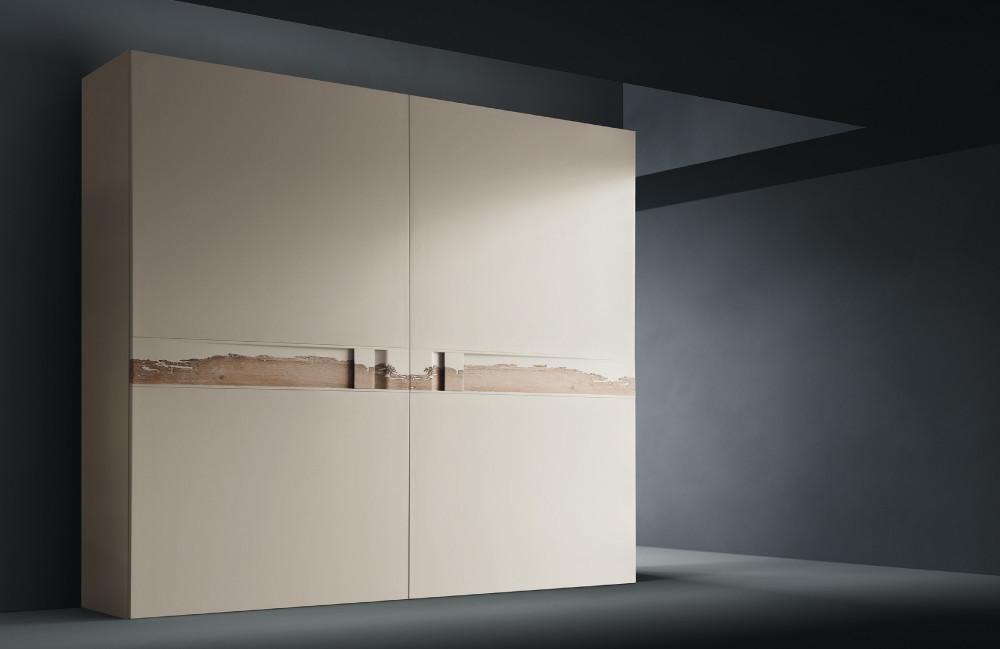 armadio scorrevole laccato opaco con briccola di venezia