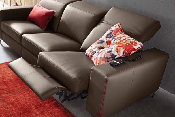trevor divano componibile con meccanismo relax