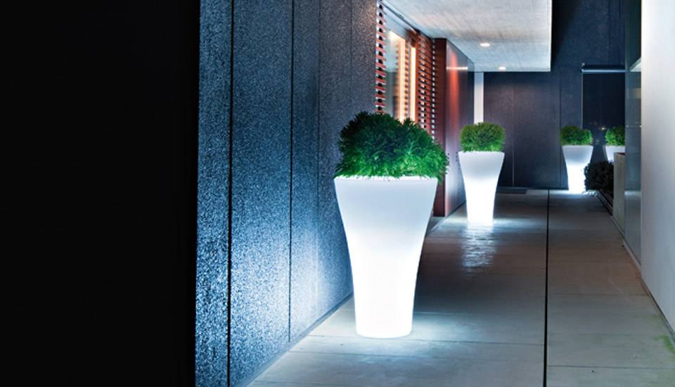 vaso ming by serralunga con luce