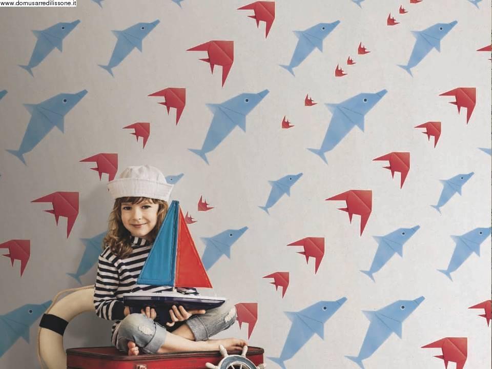 Camerette archives non solo mobili cucina soggiorno e for Carta da parati bambini