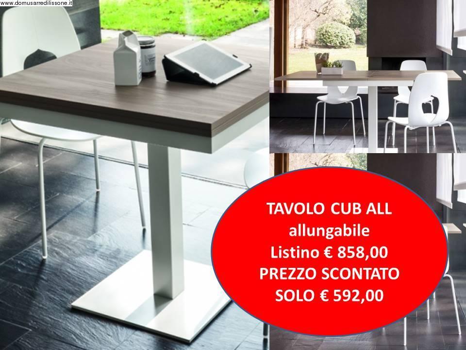 tavolo allungabile Cube legno