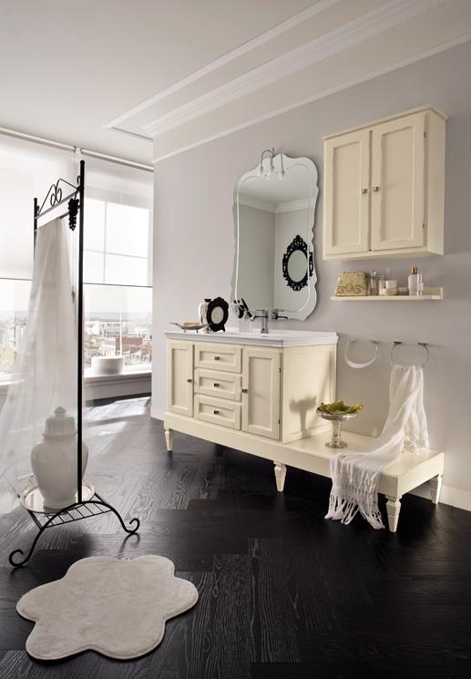 Bagni archives non solo mobili cucina soggiorno e camera - Arredo bagno shabby chic ...