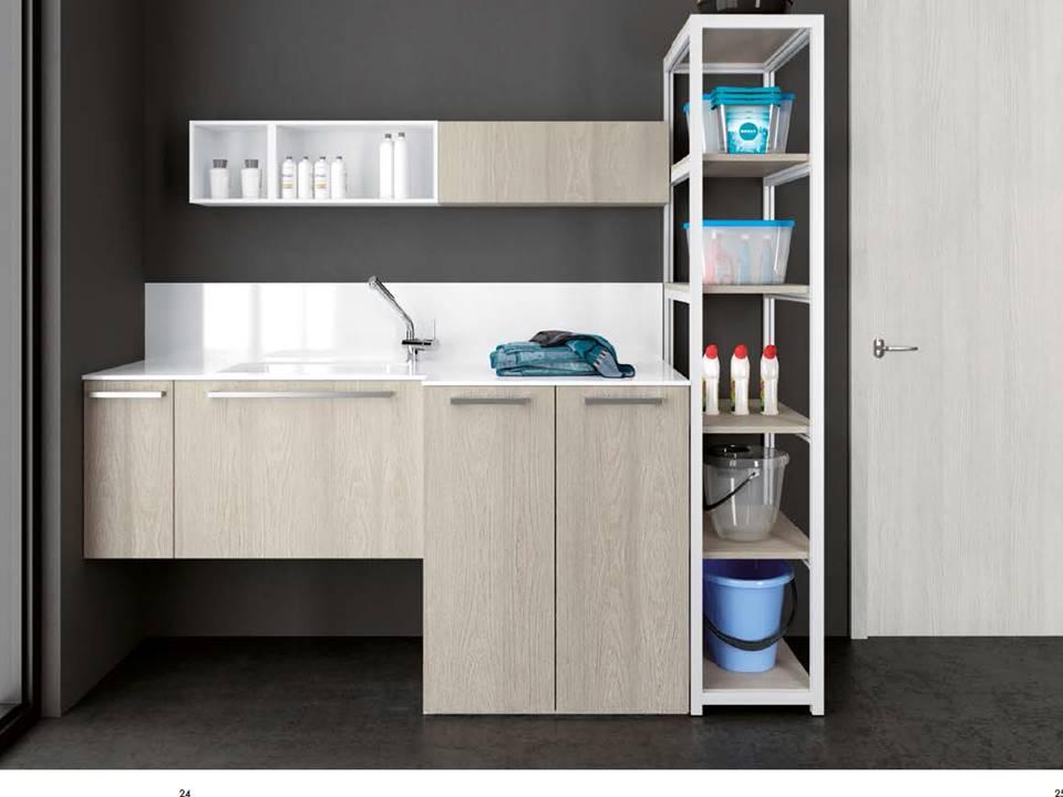 armadi per inserire lavatrice e asciugatrice