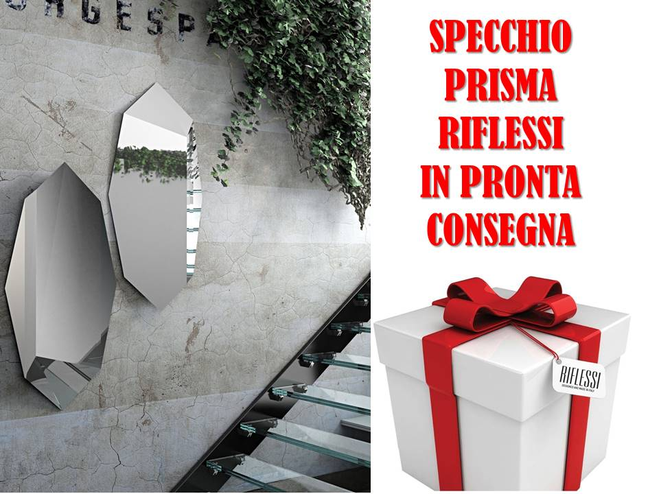 Specchio Prisma Riflessi dimensioni cm 60 x 160