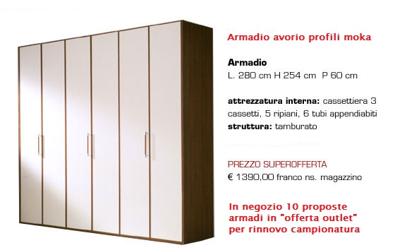 armadi offerta outlet