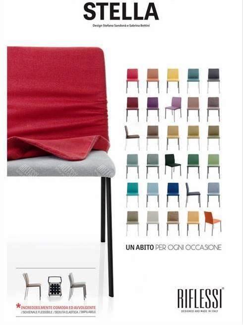 Non solo mobili cucina soggiorno e camera pagina 7 di for Sedie ecopelle colorate