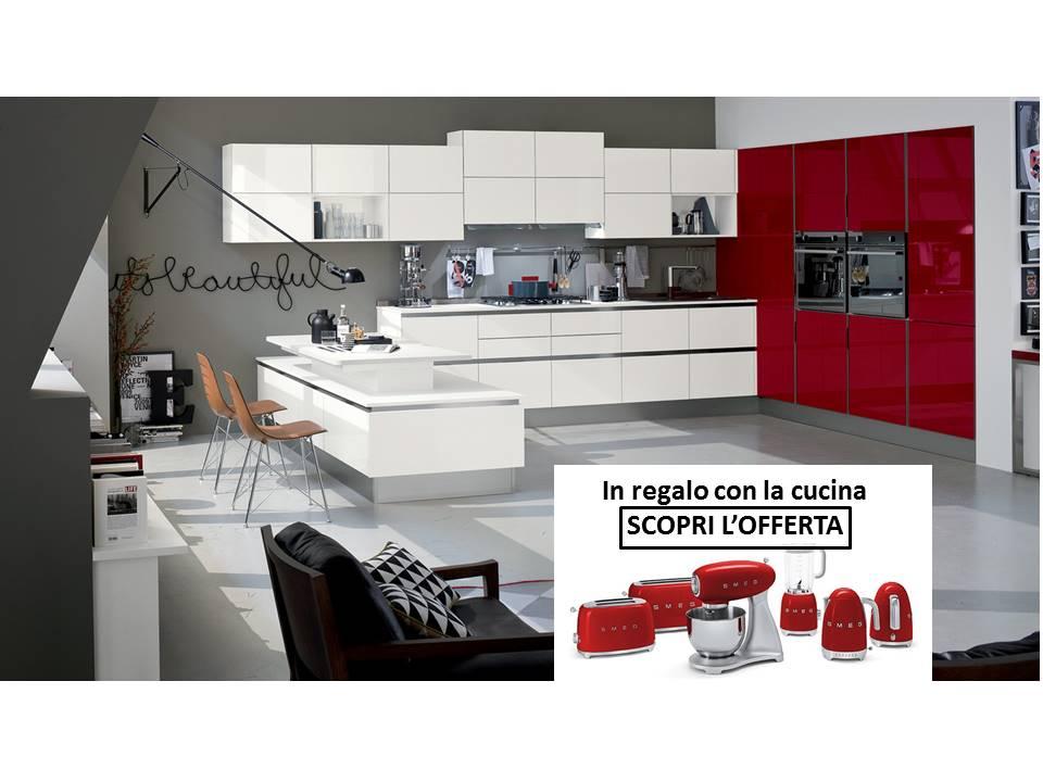 Promo veneta cucine e smeg acquista la cucina gli for Mobili cucina regalo