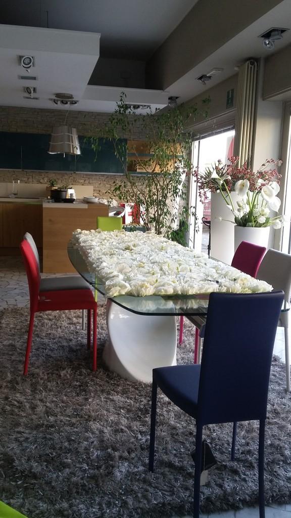 tavolo shangai tonin casa vetro allungabile