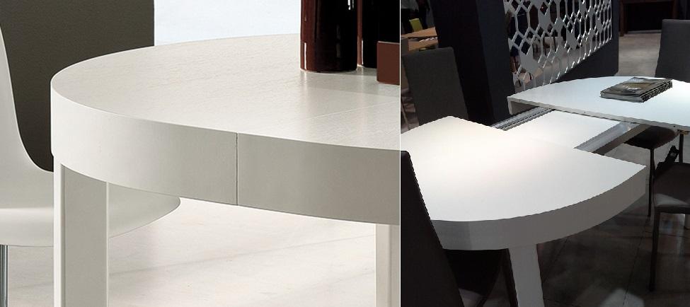 meccanismo tavolo allungabile in legno ze by riflessi