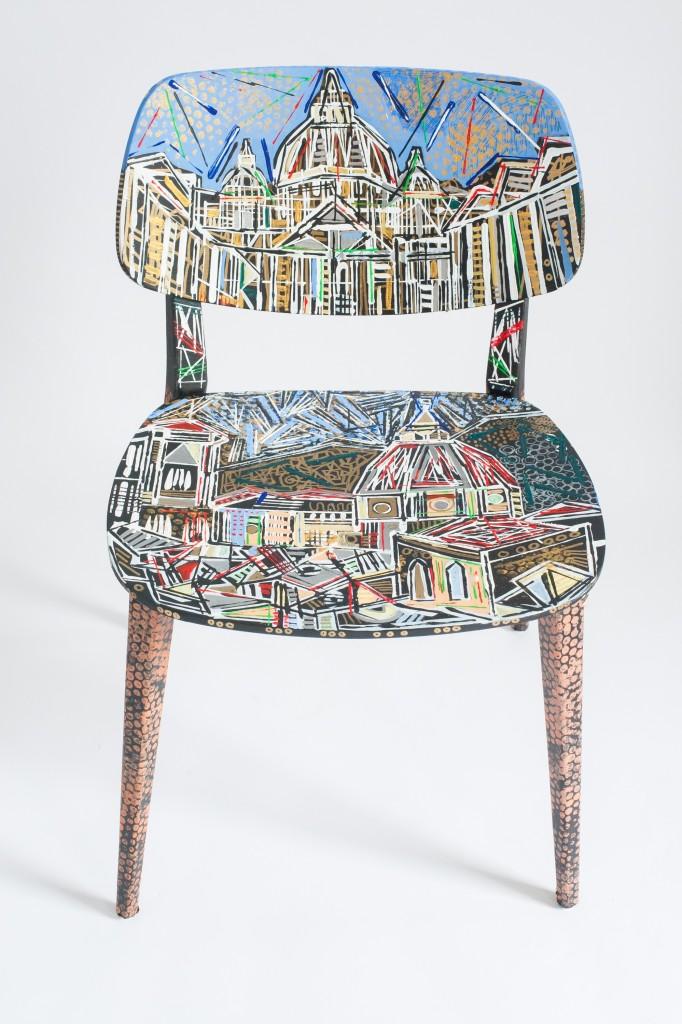 London Design festival sedia doll by Ben mosley