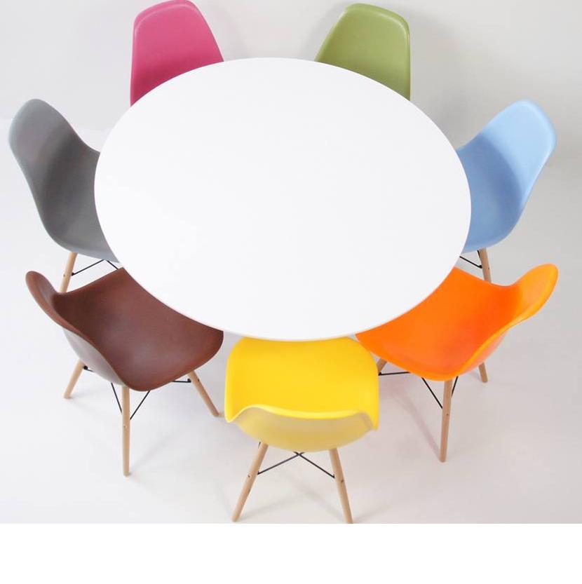 Il ritorno del tavolo rotondo:; moderno e salvaspazio