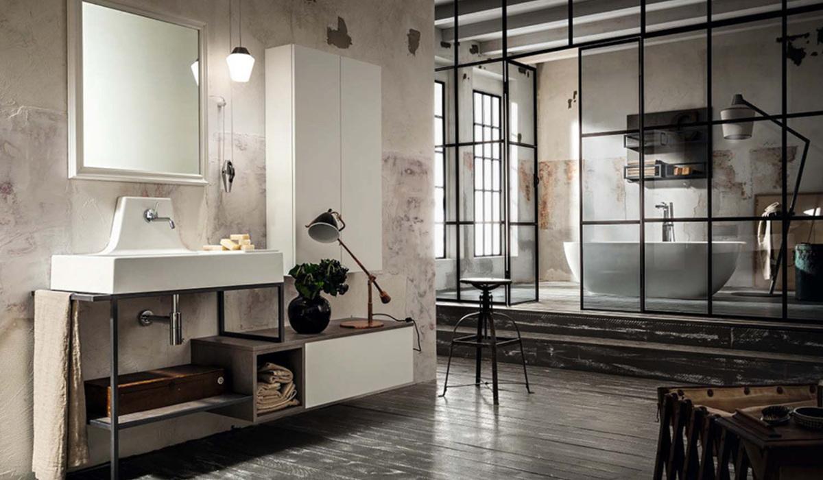 Arredo bagno cerasa novit salone del mobile for Arredo bagnio