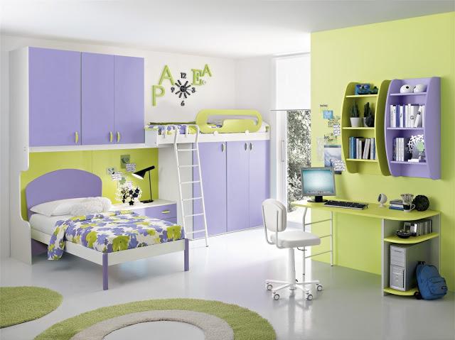 Cameretta Lilla E Verde : Cameretta per ragazze verde lilla non solo mobili cucina