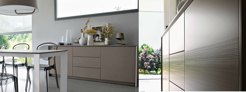 credenza password calligaris tortora opaco