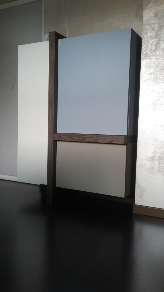 credenza moderna TLine Fimar legno laccato