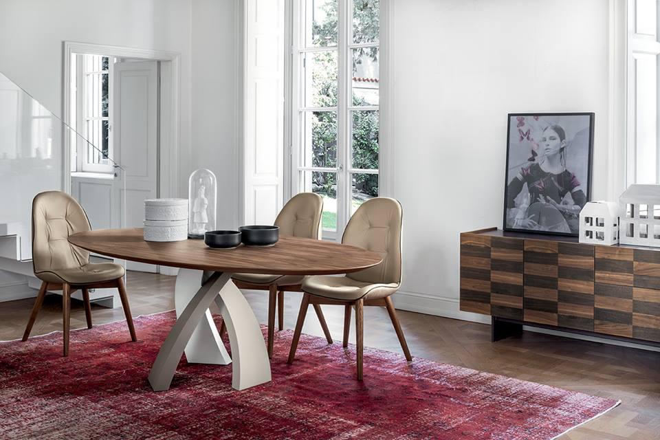 Tavolo Eliseo Tonin Casa con piano in legno