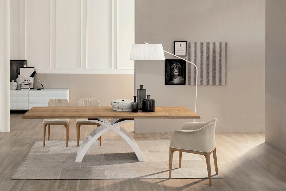 Tavoli da soggiorno archives non solo mobili cucina for Tavoli in legno allungabili