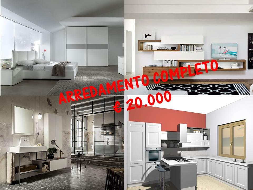 Proposta di arredamento completo ad € 20.000