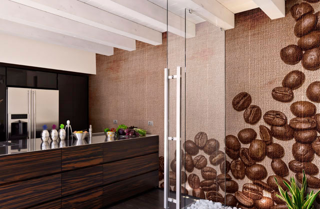 Non solo mobili cucina soggiorno e camera idee for Parati da cucina