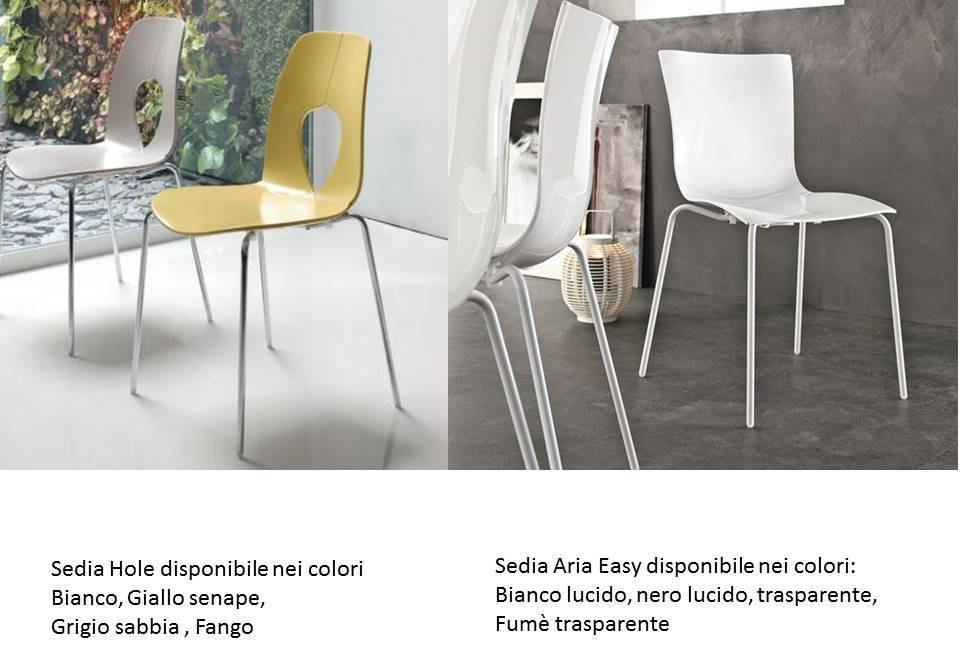 tavolo dafne e tavolo light in omaggio le sedie.