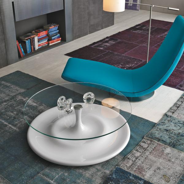 tavolino splash e poltrona ricciolo di tonin casa