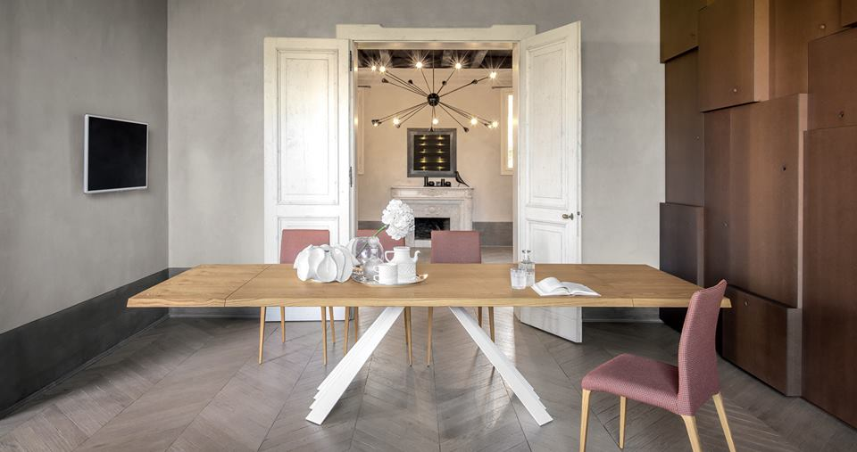 tavolo Ventaglio Tonin Casa in legno