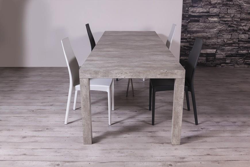 tavolo consolle allungabile Combi con piano effetto malta
