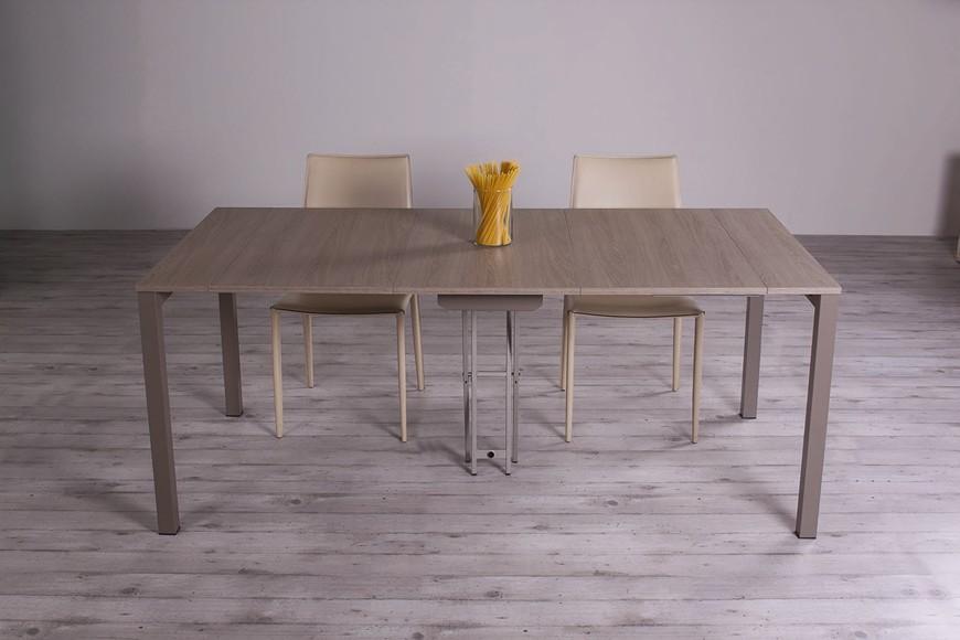 tavolo consolle allungabile quad