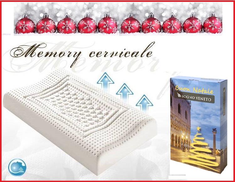 regali di natale 2016 cuscino memory cervicale