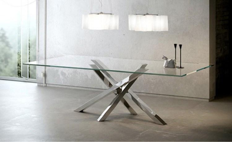 tavolo shangai riflessi in cristallo