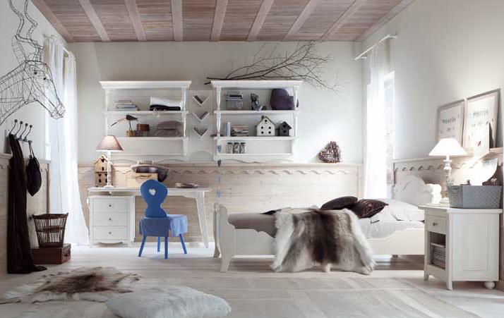 scrivania legno massello