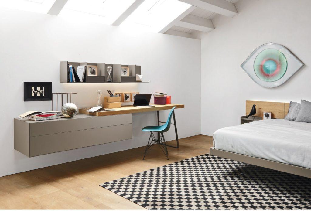 scrivania da camera da letto