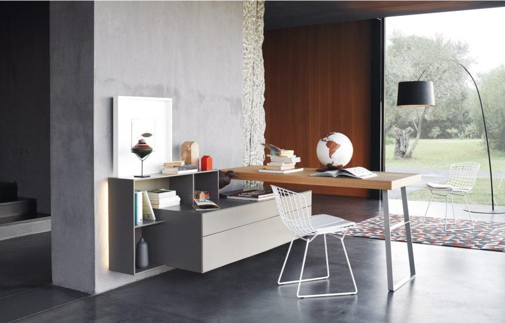 Stunning scrivania da camera contemporary - Scrivanie da soggiorno ...