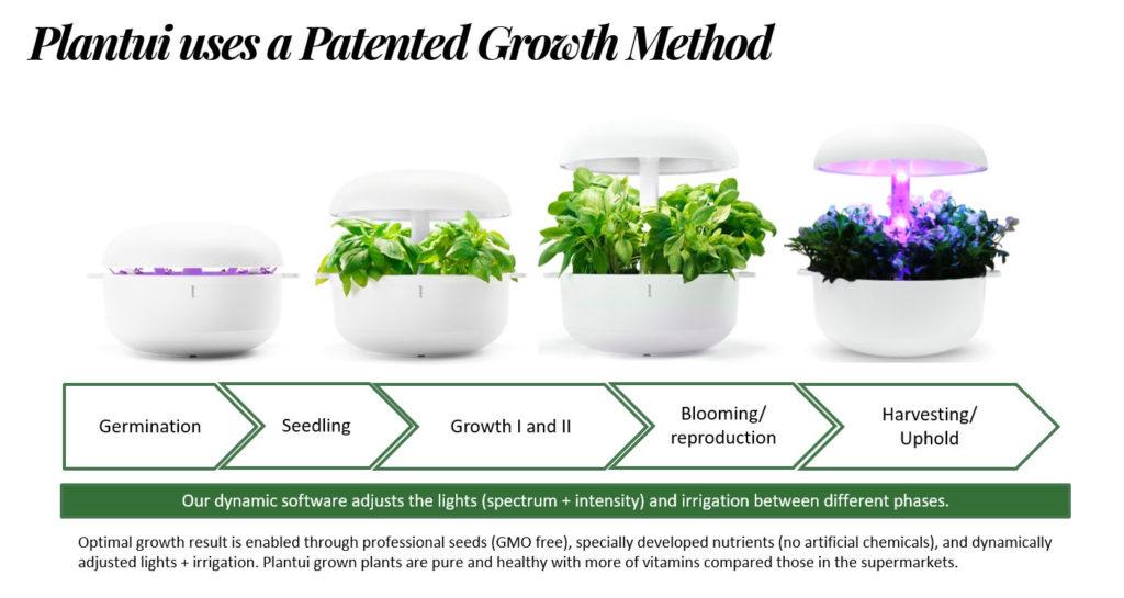 plantui come funziona le 4 fasi dalla semina al raccolto