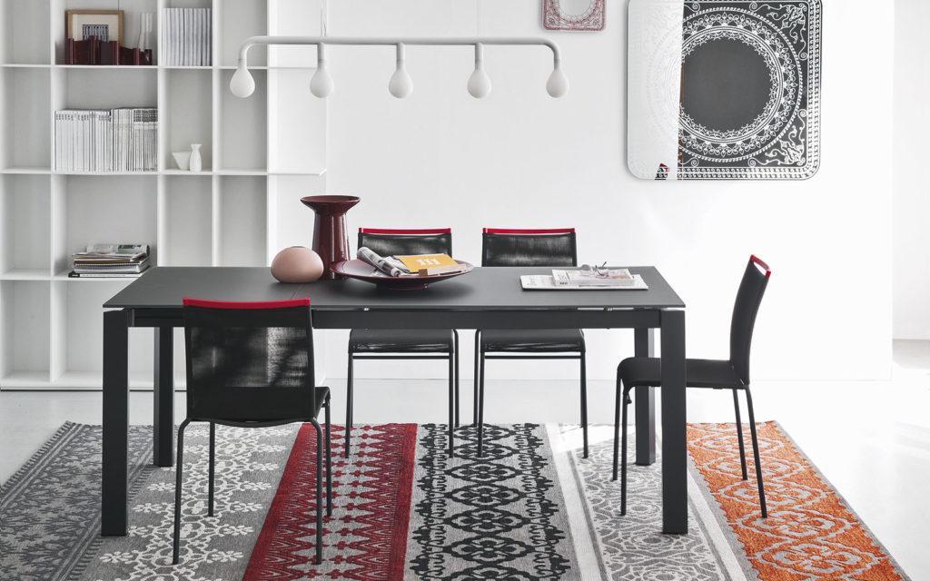 Tavoli allungabili pieghevoli consolle archives non solo mobili cucina soggiorno e camera - Tavolo eclisse calligaris ...