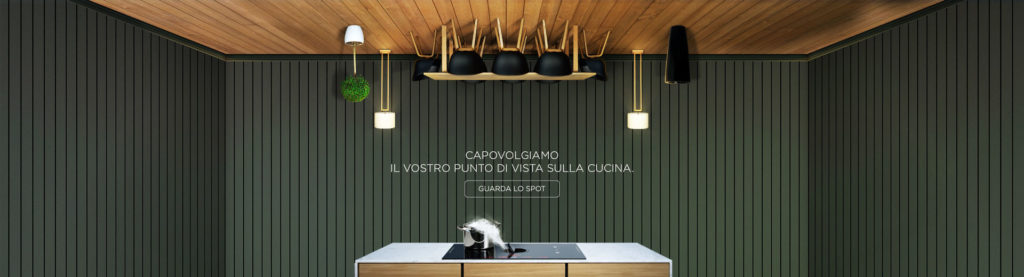 Cappa e piano cottura Elica NicolaTesla