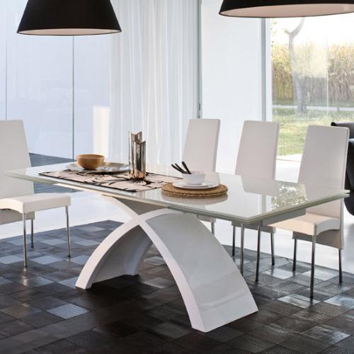 tavolo tokio tonin casa bianco