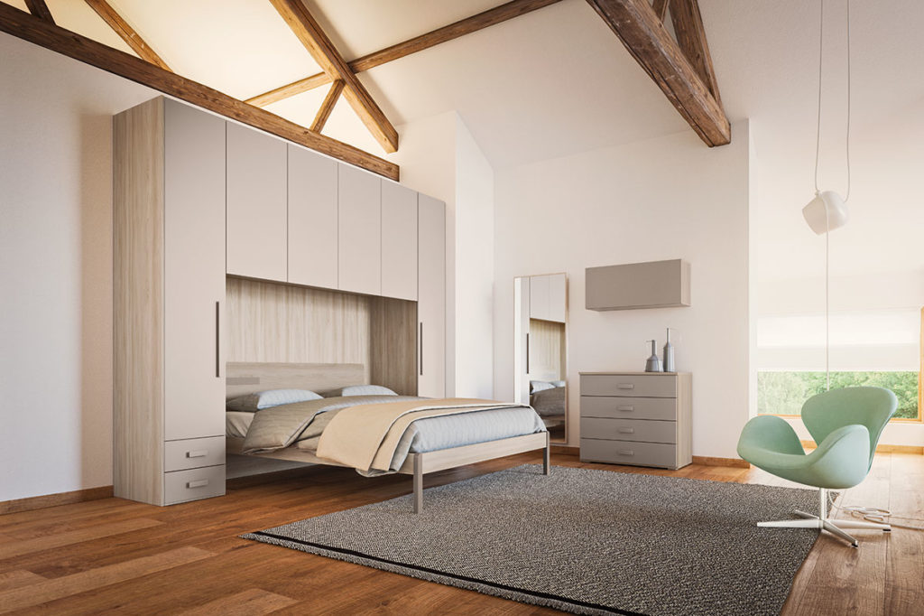 Non solo mobili cucina soggiorno e camera idee arredamento casa - Armadio letto matrimoniale ...