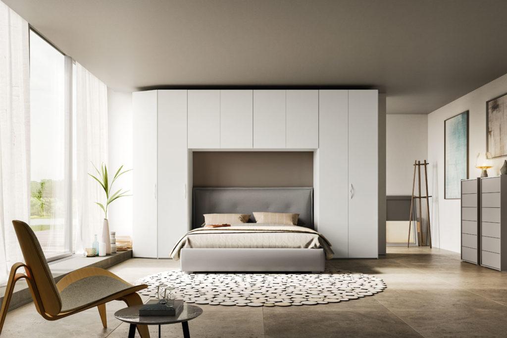 Non solo mobili cucina soggiorno e camera idee - Letto nell armadio ...