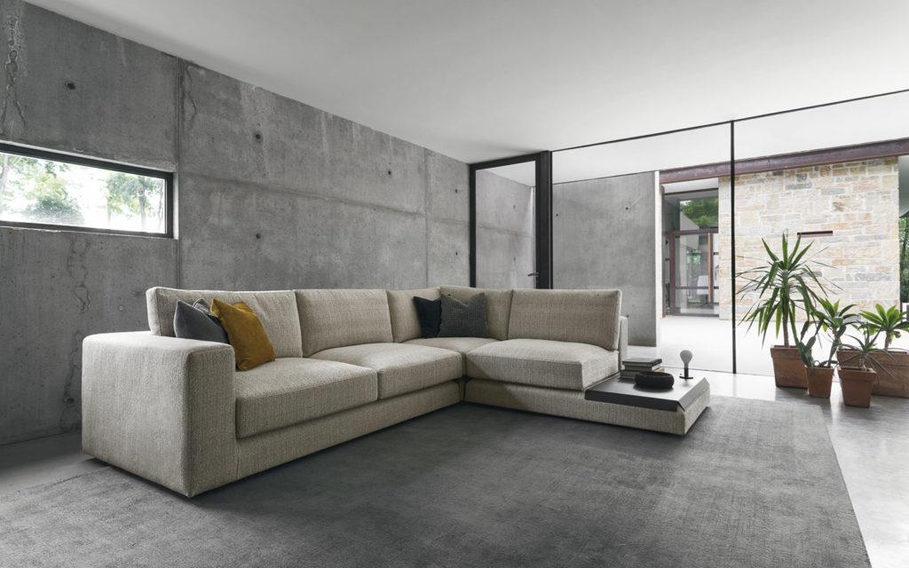 divano angolare Kora Calligaris