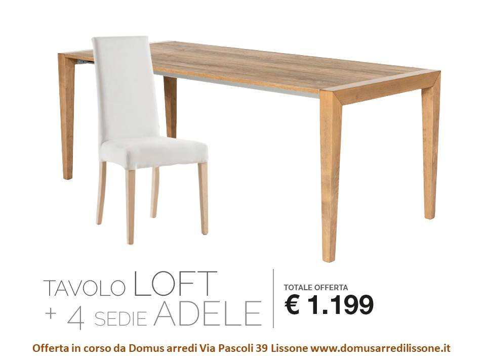 Offerta Tavolo e sedie Mobili e arredi Lissone: Veneta Cucine ...