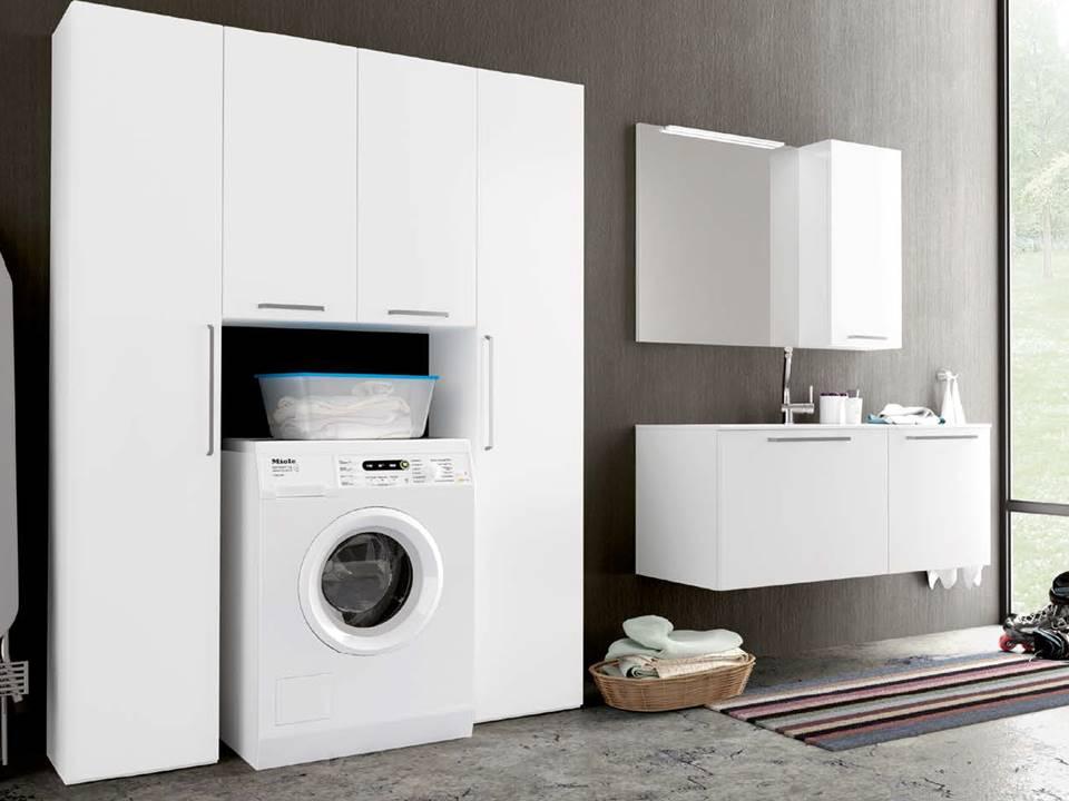 Lavanderia armadiatura per lavatrice