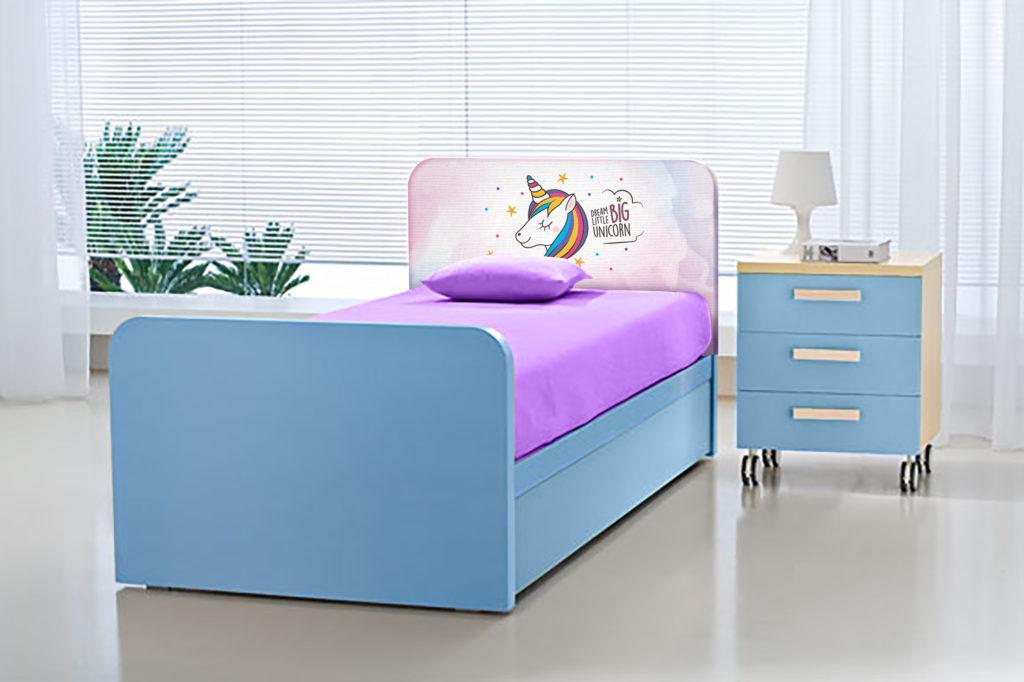 letto unicorno