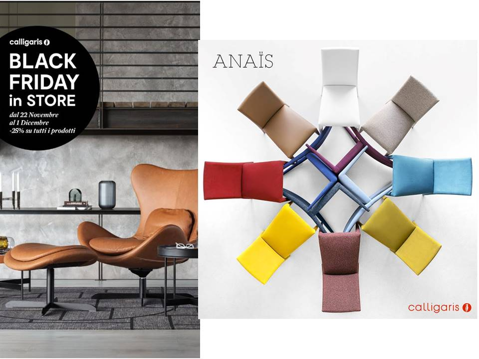 BLACK FRIDAY CALLIGARIS