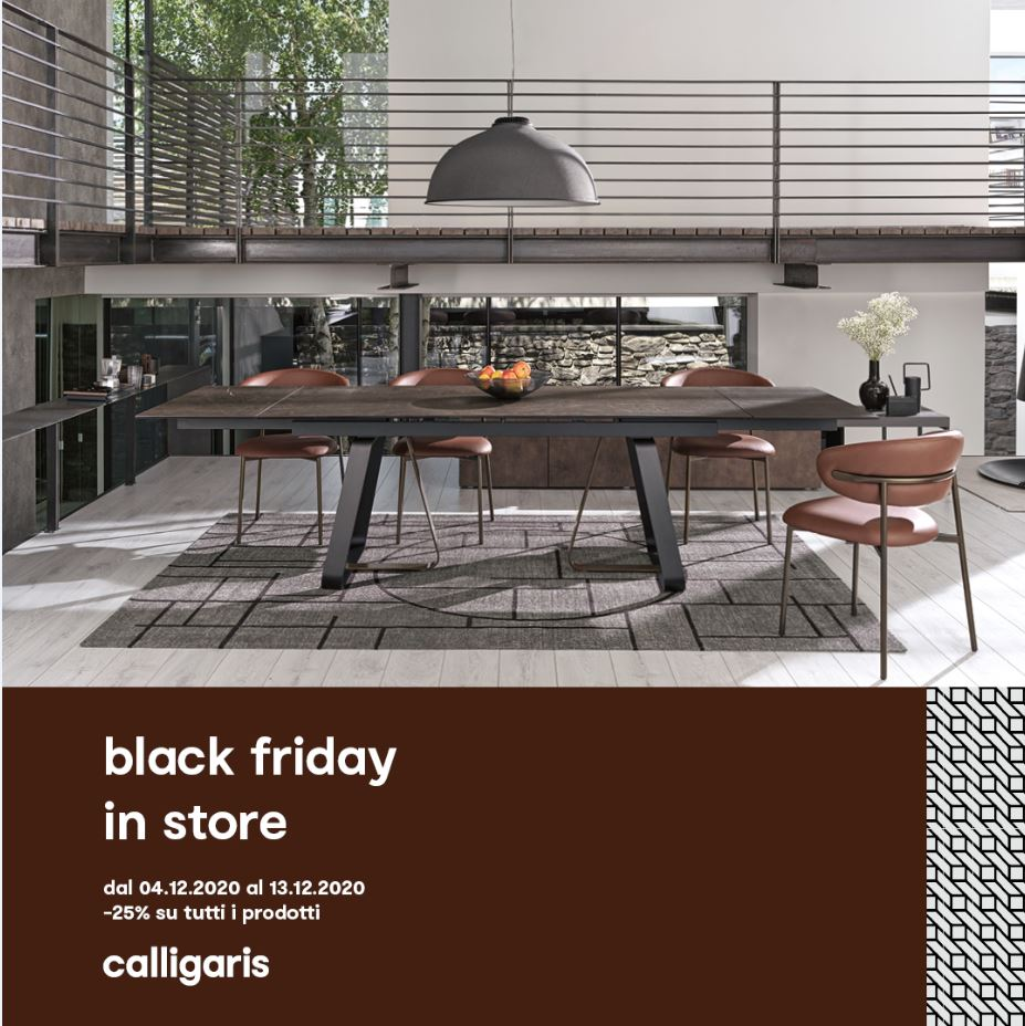 Black Friday Calligaris 2020