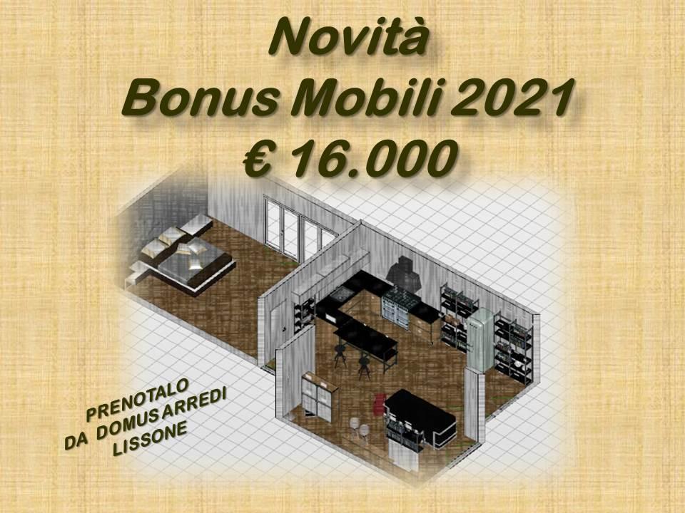 BONUS MOBILI 2021 SALE IL PLAFOND A 16.000 EURO
